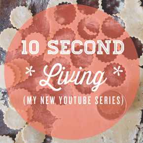10 second living WEB