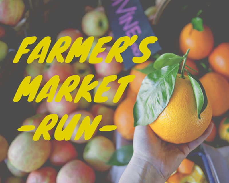 Farmer's Market Run // The Kitchy Kitchen