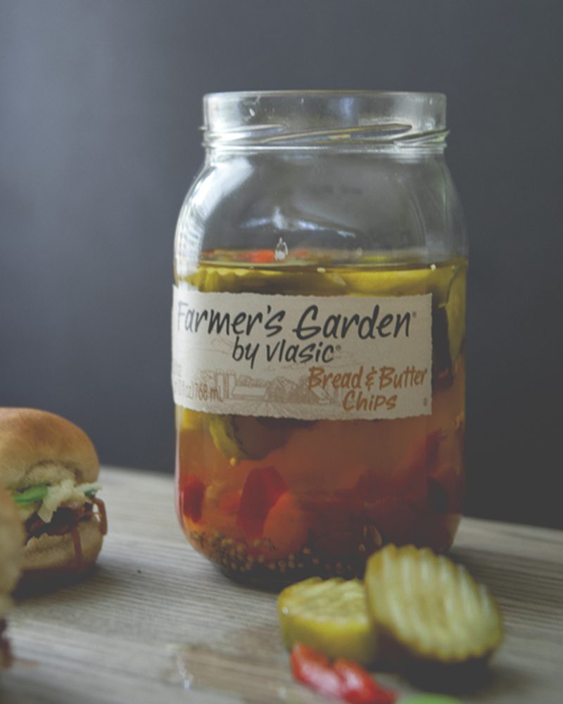 Pulled Pork Sliders With Bread And Butter Pickle Apple