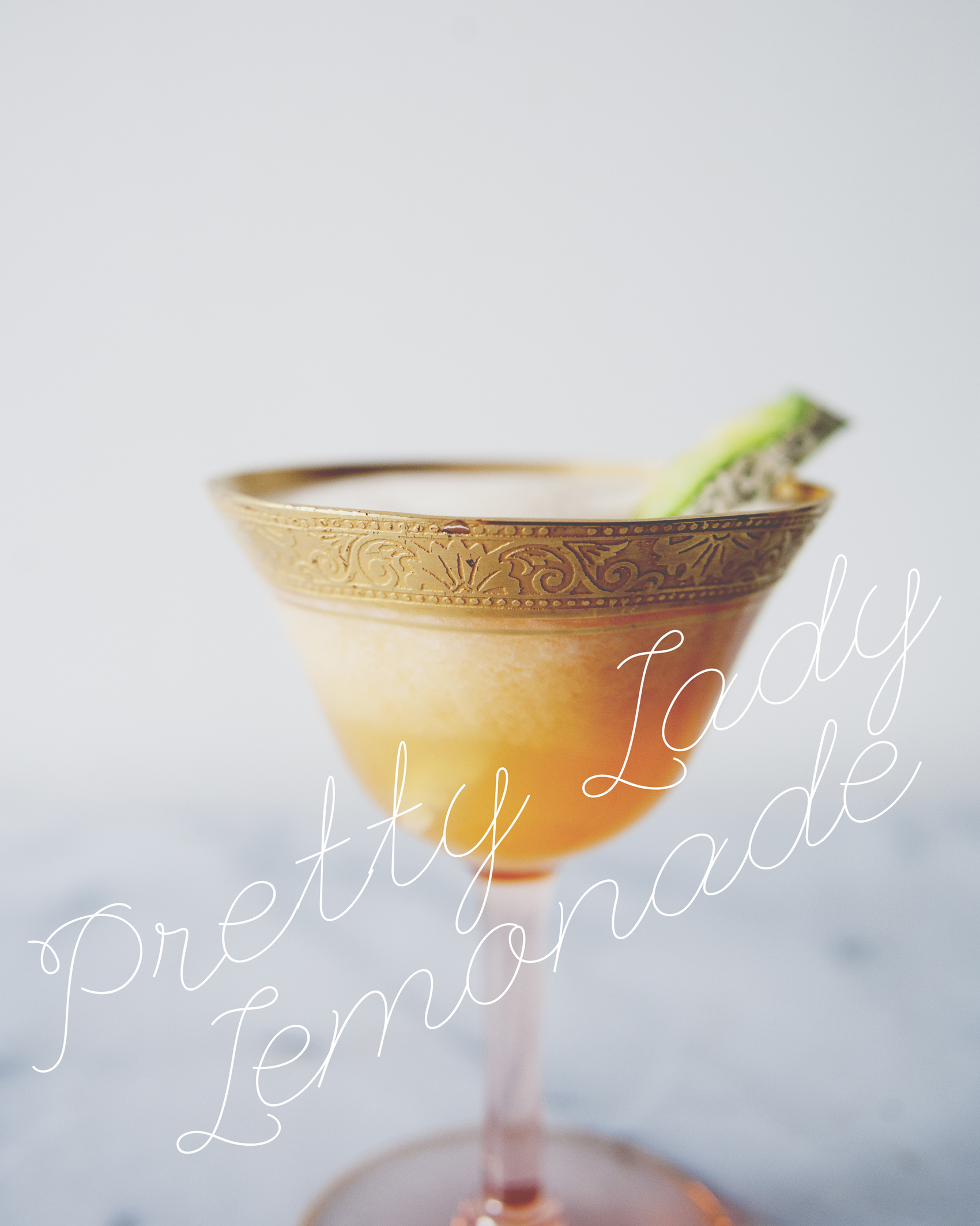 pretty lady lemonade - the kitchy kitchen