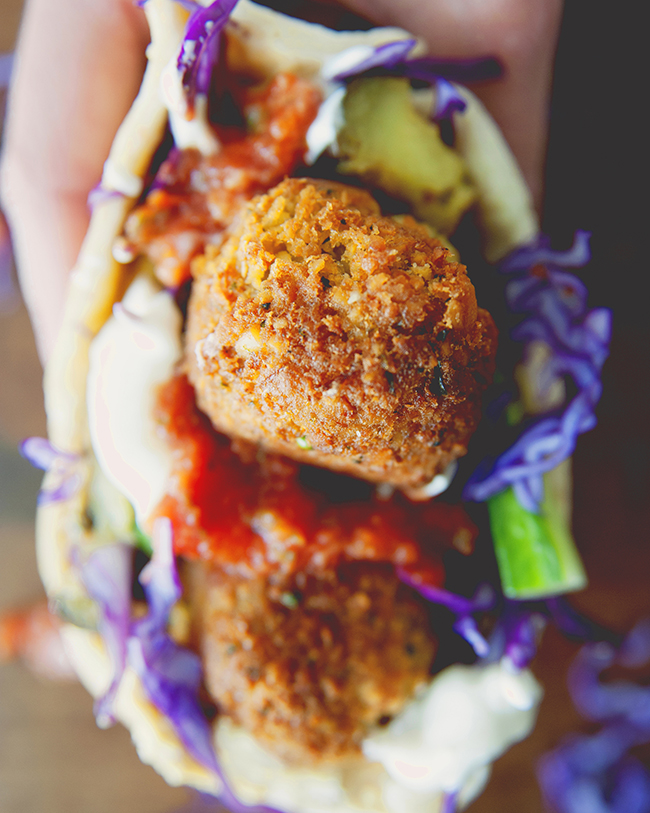 how to make falafel balls from a mix