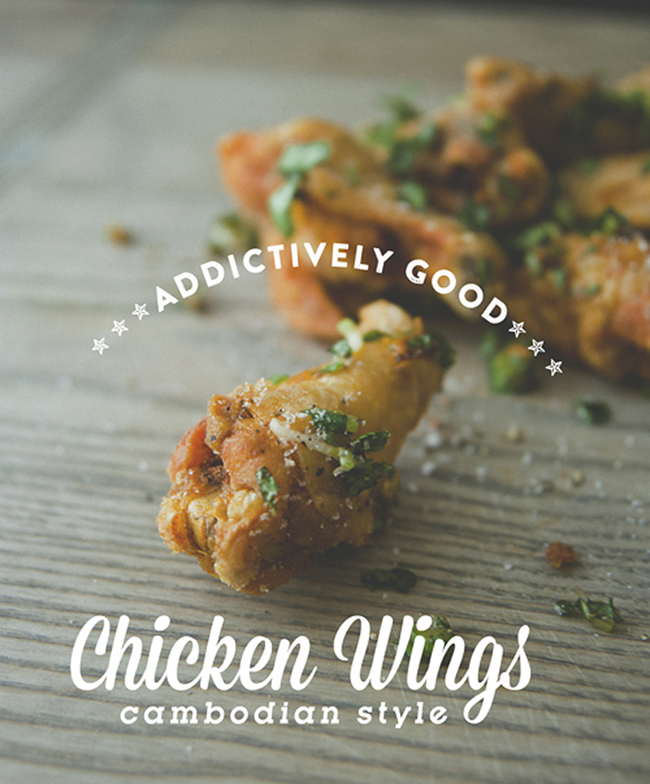 ADDICTIVE SWEET + SALTY CHICKEN WINGS