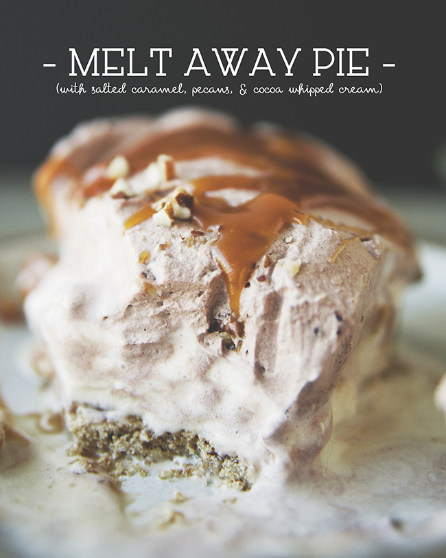 MELT AWAY PIE // The Kitchy Kitchen