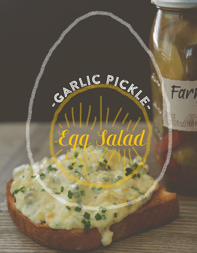 FARM FRESH EGG SALAD // The Kitchy Kitchen
