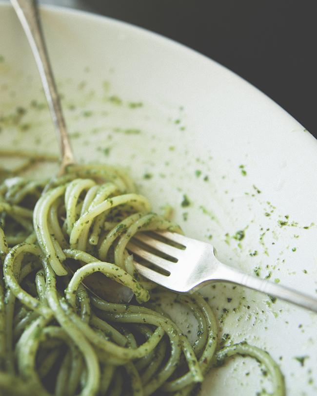 pesto on pasta spaghetti with pesto ligurian pasta pesto with ligurian ...