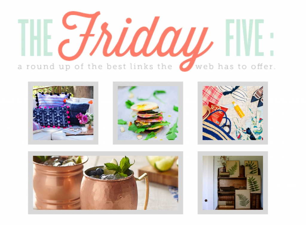FRIDAY FIVE // The Kitchy Kitchen