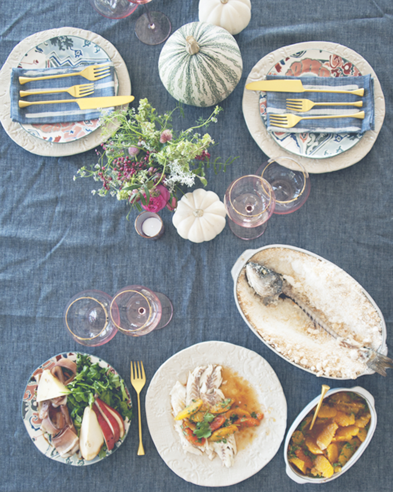 SALT + SMOKE DINNER PARTY WITH ANTHROPOLOGIE // The Kitchy Kitchen