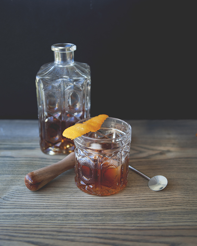 THE RUM OLD FASHIONED - The Kitchy Kitchen