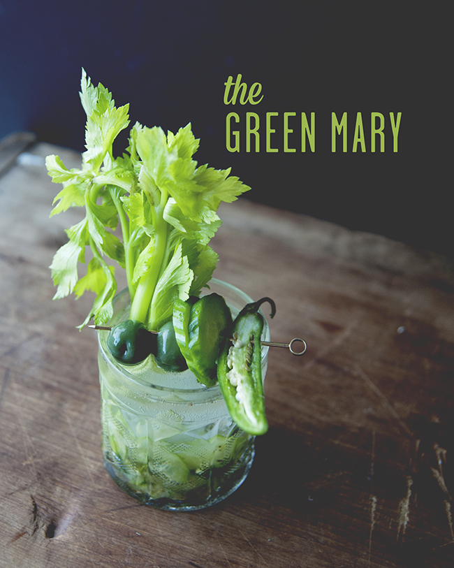 THE GREEN MARY // The Kitchy Kitchen