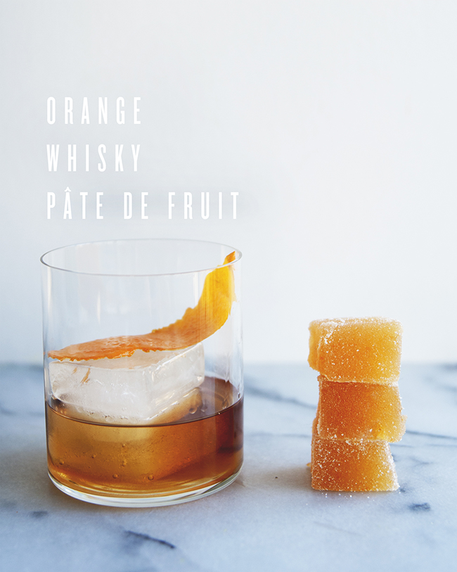 orange whisky pate de fruit the kitchy kitchen. Black Bedroom Furniture Sets. Home Design Ideas