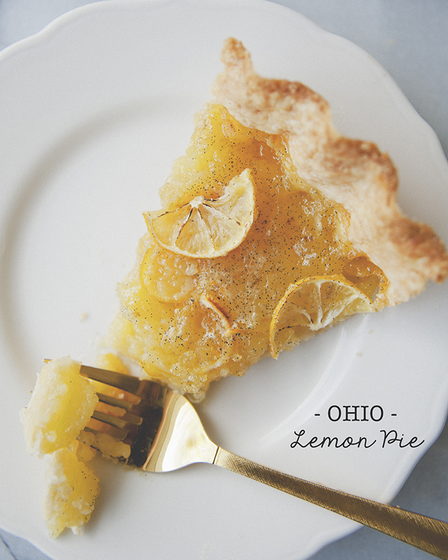 OHIO LEMON PIE // The Kitchy Kitchen
