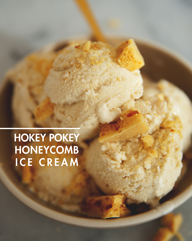 Hokey Pokey Ice Cream Recipe — Dishmaps