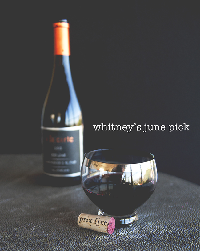 MONTHLY WINE PICK // The Kitchy Kitchen