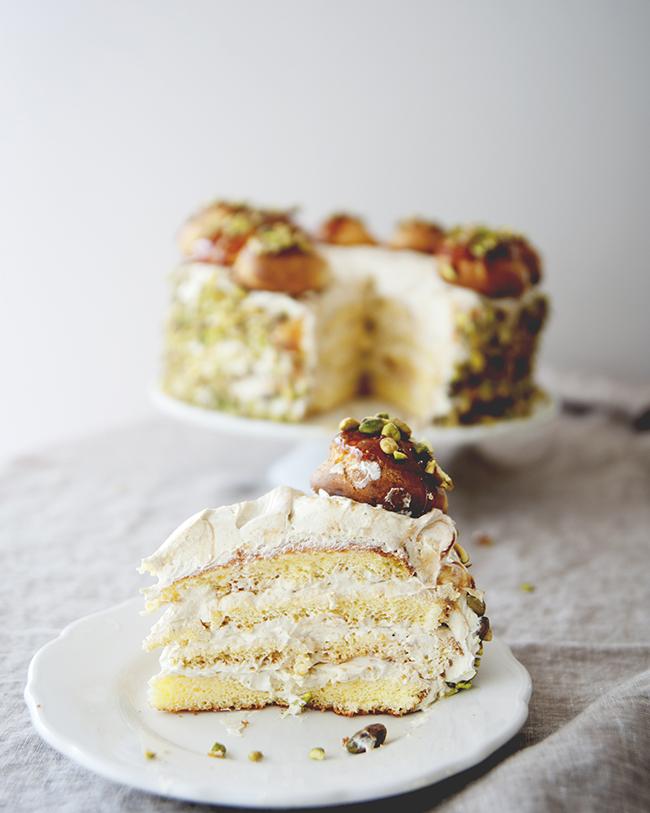 EPIC PISTACHIO LAYER CAKE - The Kitchy Kitchen
