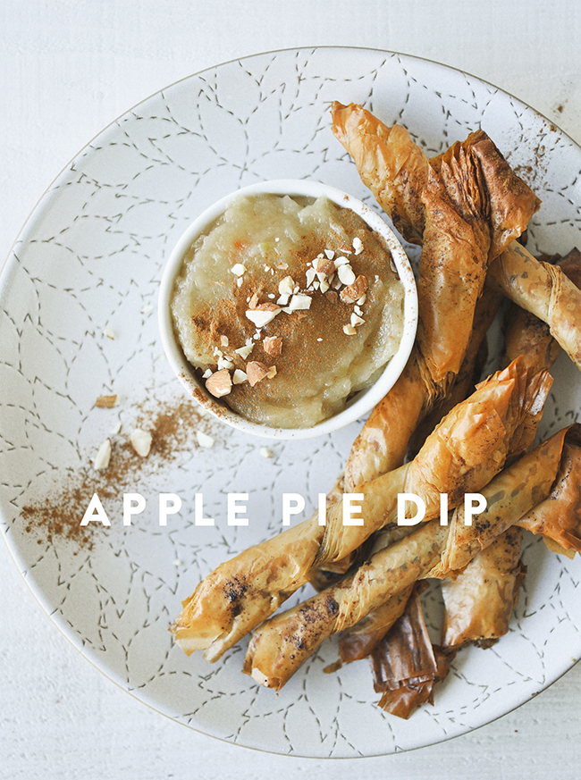 APPLE PIE DIP // The Kitchy Kitchen