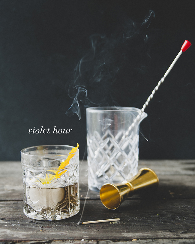 VIOLET HOUR // The Kitchy Kitchen