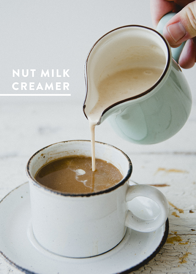 NUT MILK CREAMER | The Kitchy Kitchen