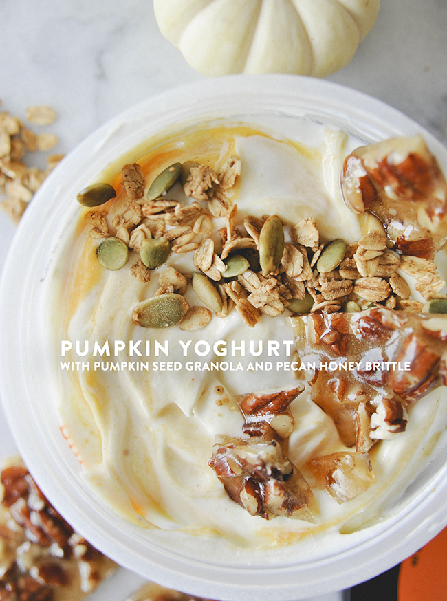 PUMPKIN YOGHURT // The Kitchy Kitchen