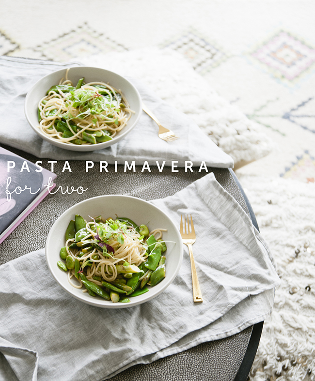 PASTA PRIMAVERA // The Kitchy Kitchen
