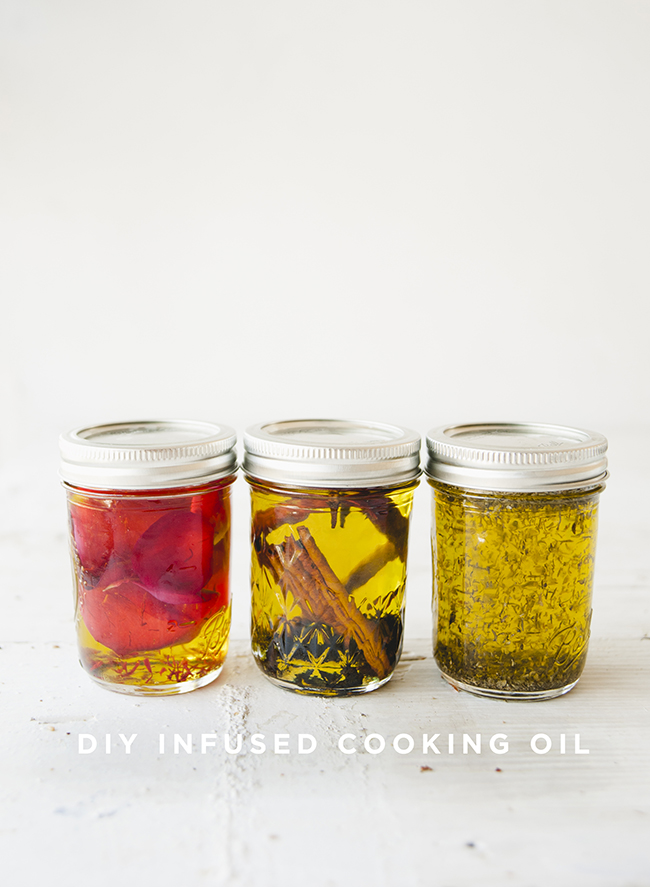 DIY INFUSED COOKING OIL // THE KITCHY KITCHEN