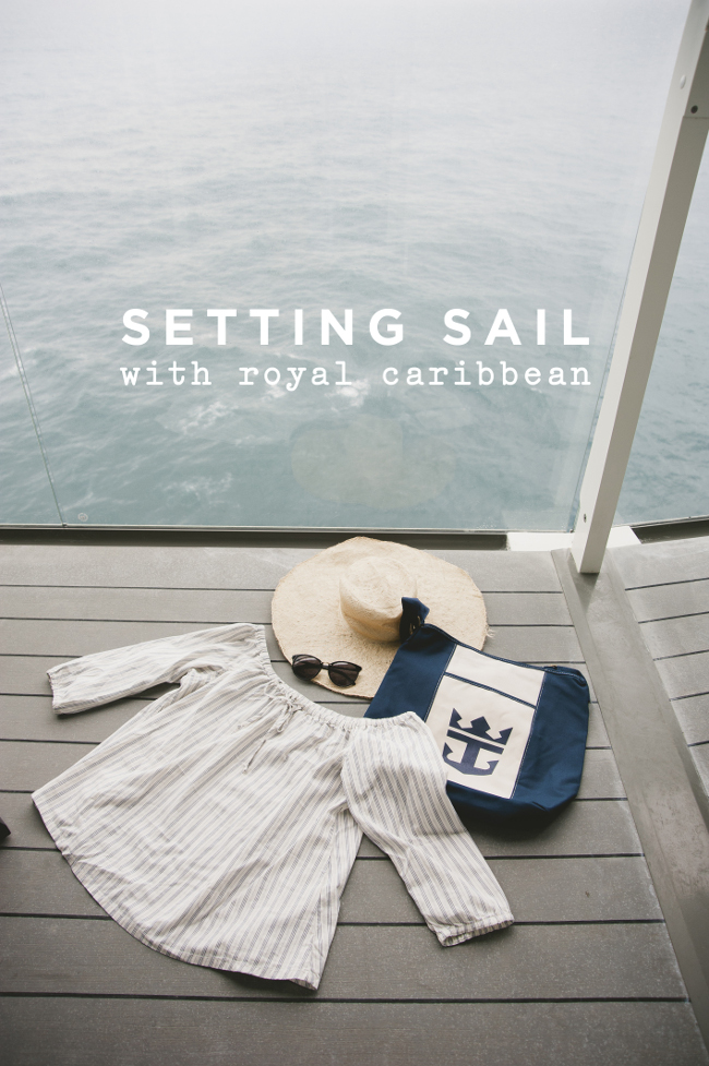 SETTING SAIL WITH ROYAL CARIBBEAN // THE KITCHY KITCHEN