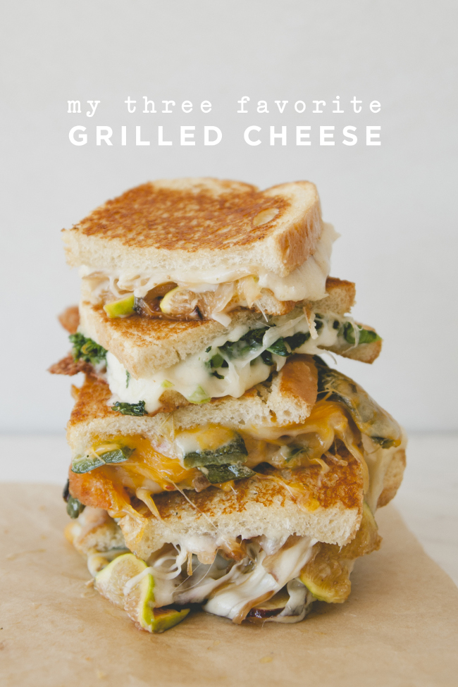 MY 3 FAVORITE GRILLED CHEESE // SPONSORED BY SARGENTO - The Kitchy Kitchen