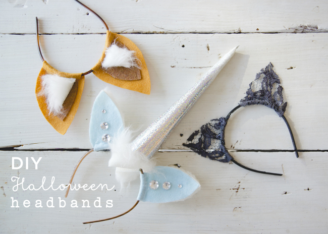 DIY HALLOWEEN HEADBANDS // THE KITCHY KITCHEN