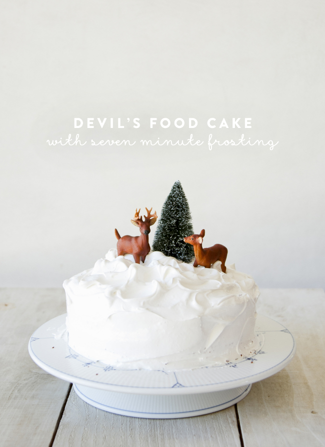 DEVIL'S FOOD CAKE - The Kitchy Kitchen