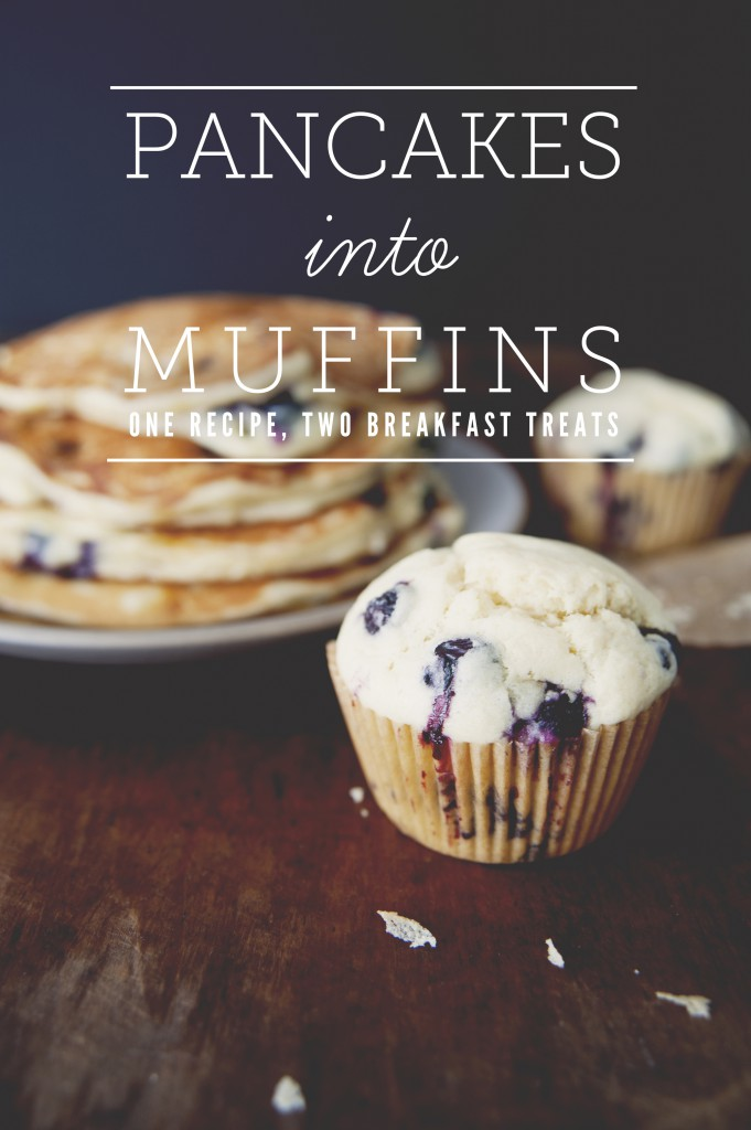 Pancakes Into Muffins One Recipe Two Breakfast Treats The Kitchy Kitchen