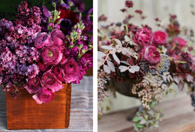 MONOCHROMATIC BOUQUETS // THE KITCHY KITCHEN