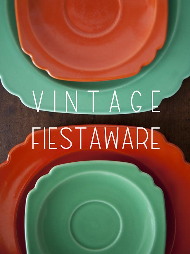 Vintage Fiestaware The Kitchy Kitchen