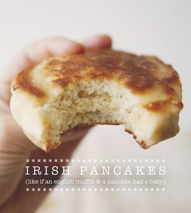 IRISH PANCAKES // THE KITCHY KITCHEN