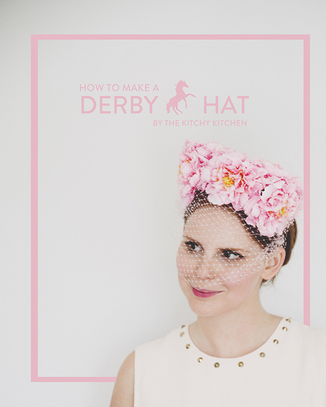 DIY DERBY HAT // The Kitchy Kitchen