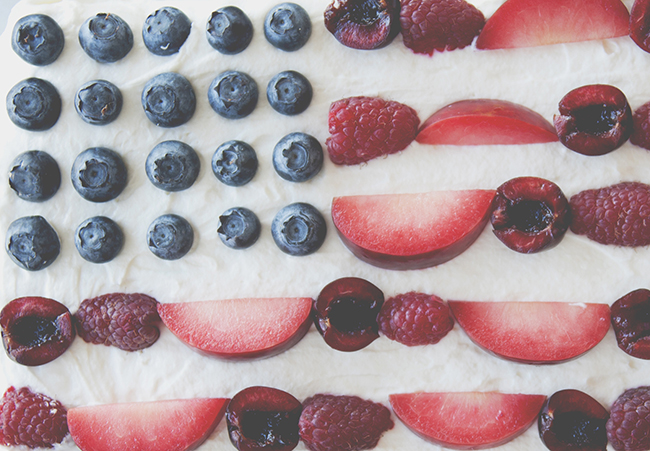 FLAG CAKE // The Kitchy Kitchen