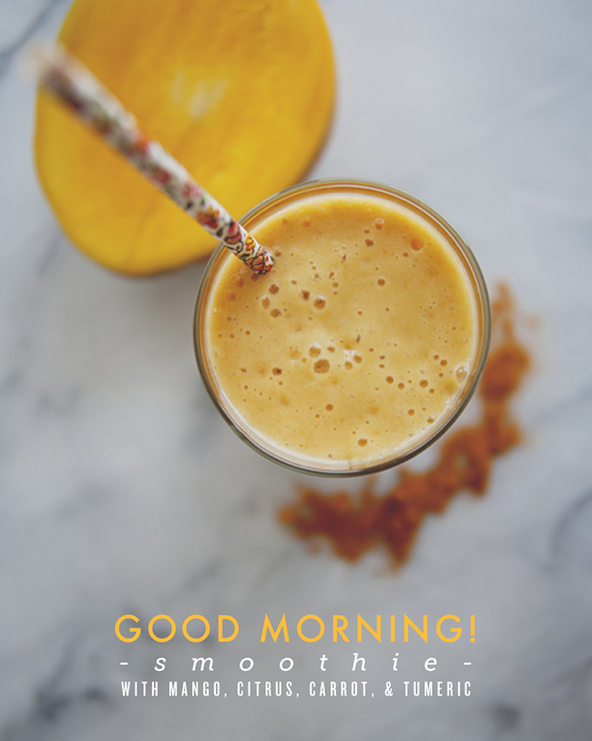 GOOD MORNING SMOOTHIE BY ALMOND BREEZE // The Kitchy Kitchen