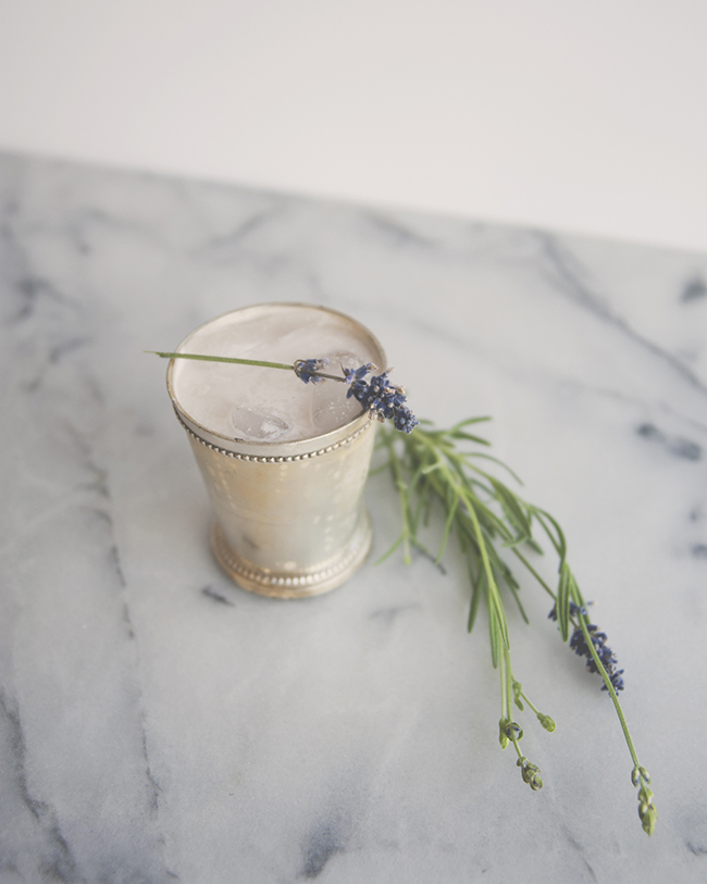 ALMOND LAVENDER BOURBON MILK PUNCH // The Kitchy Kitchen