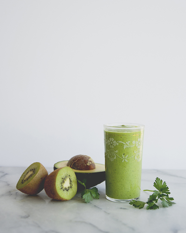 MAS VERDE SMOOTHIE // The Kitchy Kitchen