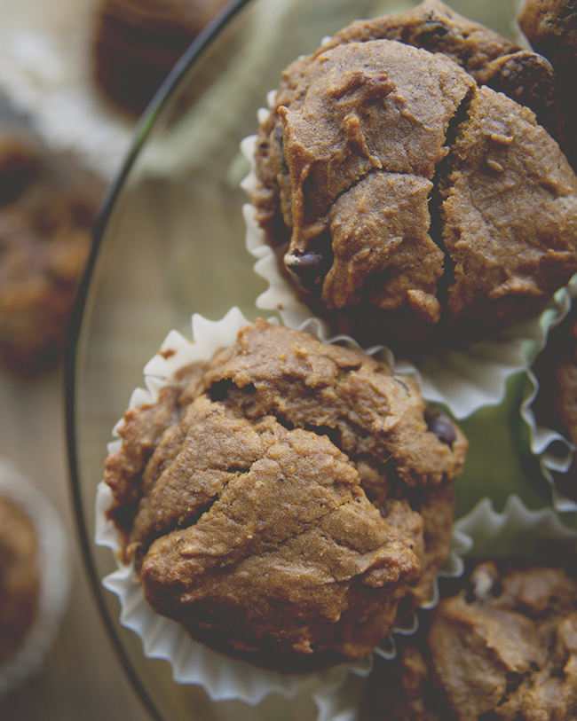 PUMPKIN SPICE LATTE MUFFINS // The Kitchy Kitchen