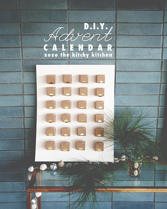 Godiva Advent Calendar.Diy Advent Calendar Sponsored By Godiva The Kitchy Kitchen
