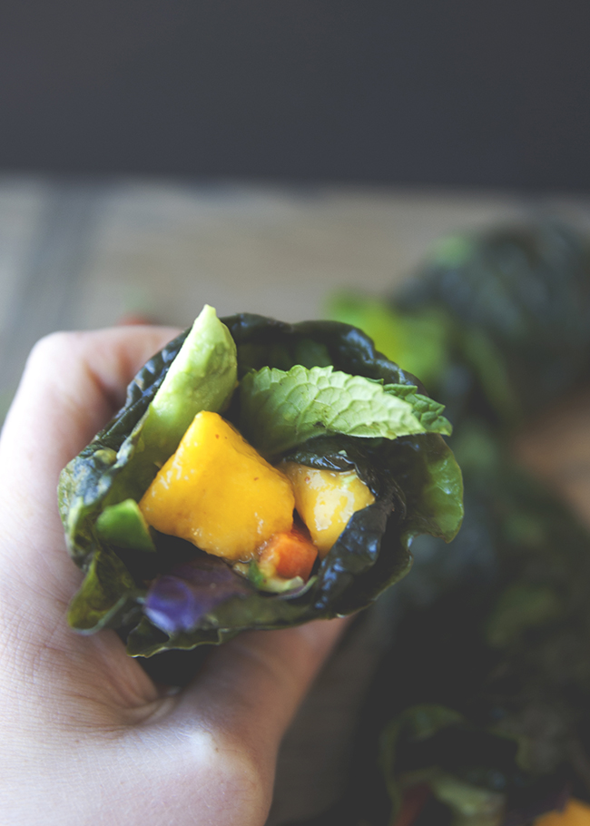 GREEN THAI WRAPS // The Kitchy Kitchen