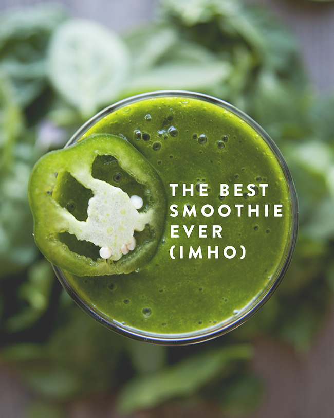 THE BEST SMOOTHIE EVER // The Kitchy Kitchen