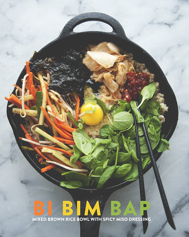 BI BIM BAP // The Kitchy Kitchen