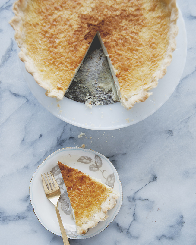 CHAI CUSTARD TART // The Kitchy Kitchen