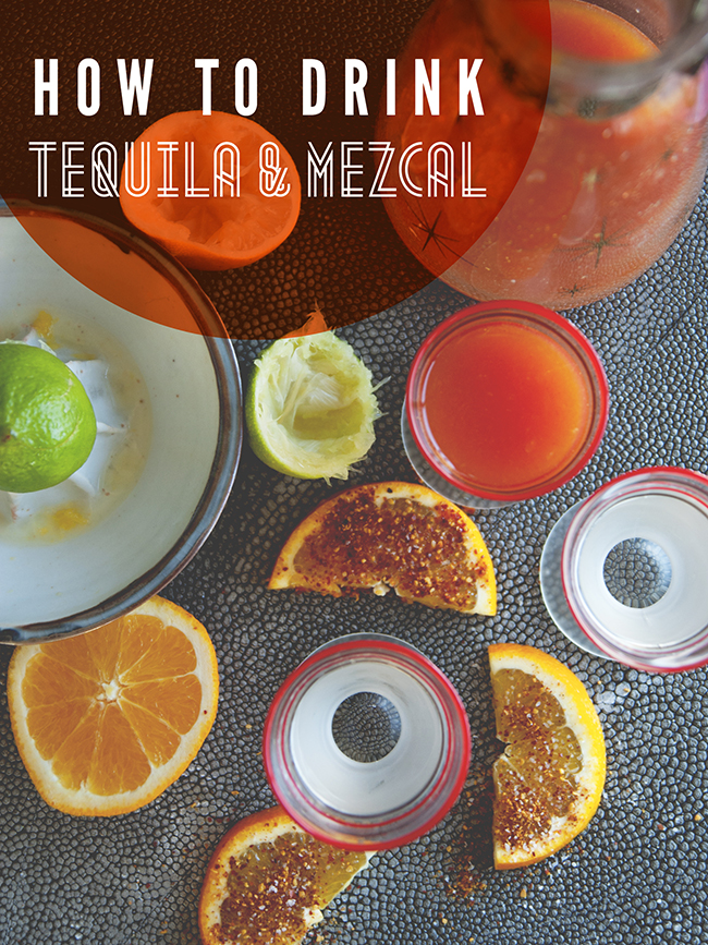HOW TO DRINK TEQUILA + MEZCAL // The Kitchy Kitchen