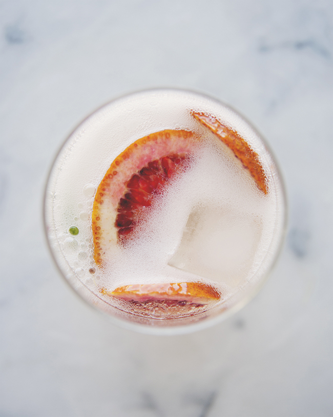 CITRUS SPRITZER // The Kitchy Kitchen