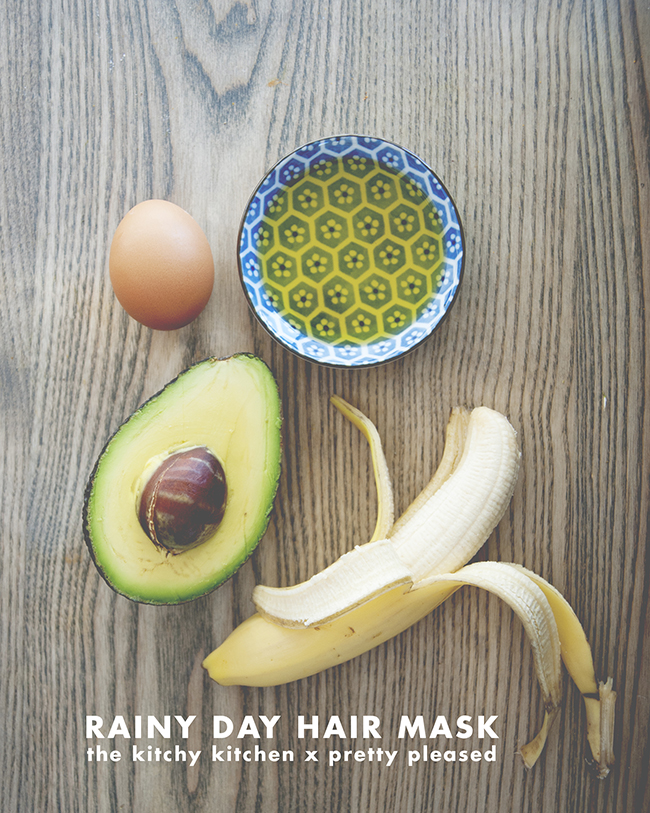 RAINY DAY MASK // The Kitchy Kitchen