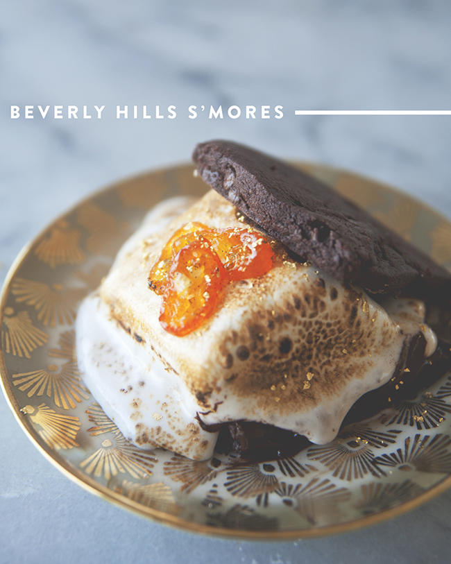 BEVERLY HILLS S'MORES // The Kitchy Kitchen