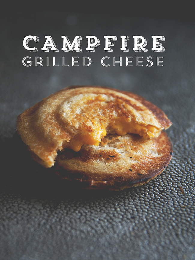 CAMPFIRE GRILLED CHEESE // The Kitchy Kitchen
