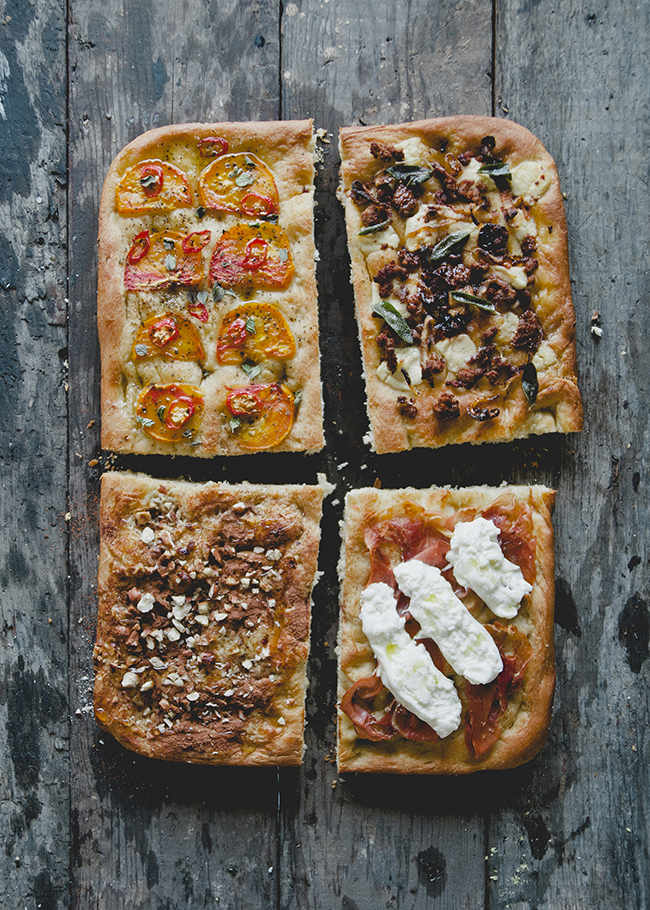Focaccia 4 Ways The Kitchy Kitchen