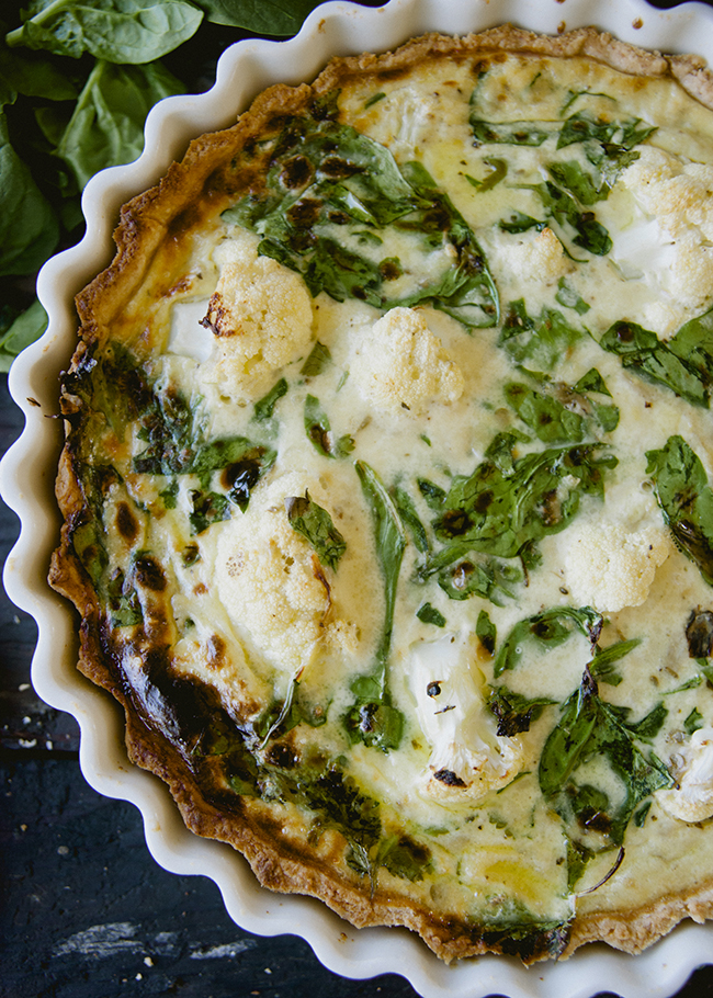 ZA'ATAR QUICHE // The Kitchy Kitchen